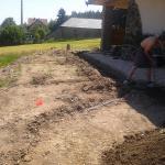 Příbram travní koberec  zavlažování  před