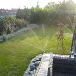 Boleslav,  Travní koberec a zavlažování